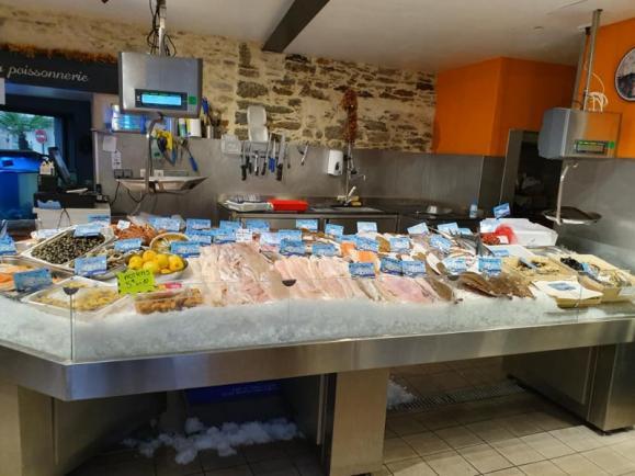 espace de vente poissons